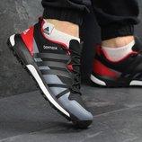 Кроссовки мужские Adidas Terrex Boost black/red