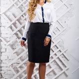 Белая блуза, блузка 2315