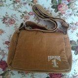 Отличная вельветовая сумка