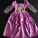 карновальное платье Рапунцель дисней оригинал на возраст 7-8 лет