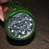 Фонарик камуфляжный светодиодный аккумуляторный заряд от сети