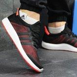 Кроссовки мужские Adidas Bounce black/red