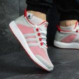 Кроссовки мужские Adidas Bounce gray/red