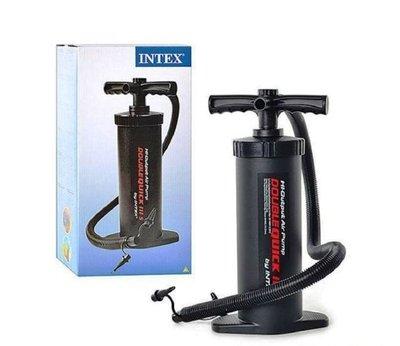 Ручной насос для надувания Intex 68605, 3 л, размер 37 см, универсальный