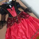 карнавальное платье 3-4 г костюм новое с бирками хелооуин паук F&F