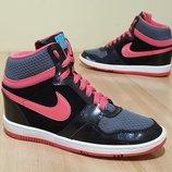Оригинальные кожаные сникерсы Nike Force Sky High Prm 37р-23,5cm-uk4