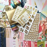 Бумага для скрапбукинга товары для творчества в ассортименте материалы для рукоделия