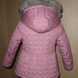 демисезонная стеганная куртка ,на 4-5 лет состояние идеальное