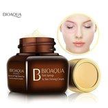 Крем для глаз Bioaqua от темных кругов морщин отеков 20мл, крем для век увлажняющий регенерирующий