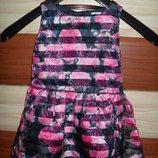 красивое платье в розочки на 3-4 года