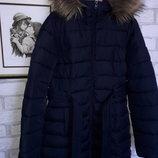 Hollister Мега качество р xs 40-42 наш. сток Зимнее пальто куртка