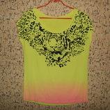 Красивая футболка кофта майка р.48-50