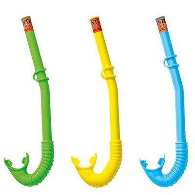Трубка для плавания Intex 55922, 3 цвета от 3 лет