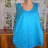 блузка женская голубая лагуна большой размер р 22