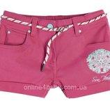 Детские стрейчевые шорты Pepperts на девочку 7-8, 8-9, 10-11 лет