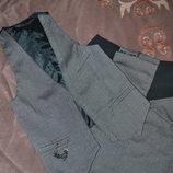 Костюм юбка жилетка