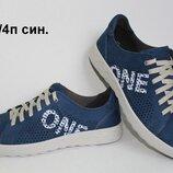 Мужские кожаные спортивные туфли Clubshoes с перфорацией