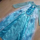 карнавальное платье 8-9 л костюм как новое эльза принцесса