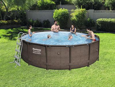 Каркасный бассейн Bestway 488х122 см 56666