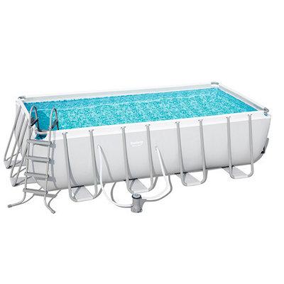 Каркасный бассейн Bestway 488х244х122 см 56670
