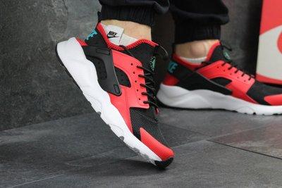 Кроссовки мужские Nike Huarache black/red