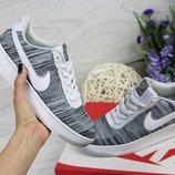 Кроссовки женские Nike Air Force Gray