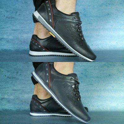 Туфли спорт Ecco, р 40-44, натуральная кожа, код gavk-10711