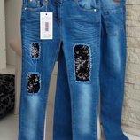 Моднячие джинсы на девочек -3-7 лет. Турция