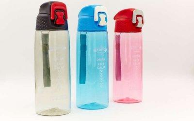 Бутылка для воды спортивная 6434 3 цвета, объем 650мл