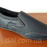 Мужские туфли мокасины