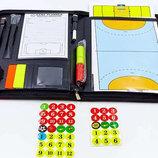 Доска тактическая для футбола/волейбола/гандбола/баскетбола 6383 размер 42х28,5см