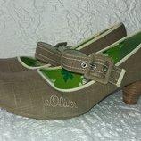 Новые туфли s. Oliver Германия размер 41