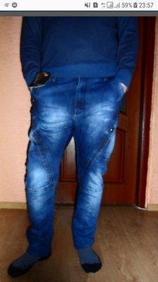 Новые мужские джинсы, р.29
