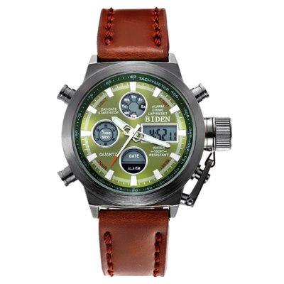 Часы мужские наручные AMST Biden brown green