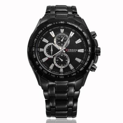 Часы мужские Curren Granit black-black