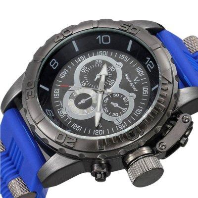 Часы мужские v6 Grizzly blue
