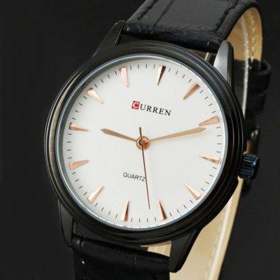 Часы мужские Curren Classic Black-white