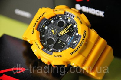 Часы Casio G-Shock yellow