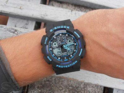Часы Casio G-Shock black-blue