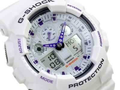 Часы Casio G-Shock white