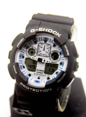Часы Casio G-Shock black-white