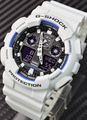 Часы Casio G-Shock white-black