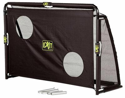 Футбольные ворота Exit Maestro 180х120 см Голландия 2 в 1 сетка и экран ворота для футбола