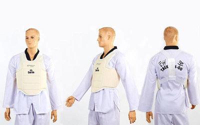 Жилет для единоборств детский для каратэ защита корпуса Daedo 5384 размер XXS-M