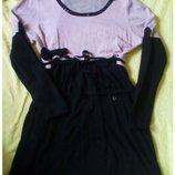 теплое платье на рост от 150-165