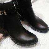 Ботинки кожаные натуральные демисезонные 36-40р Новая коллекция