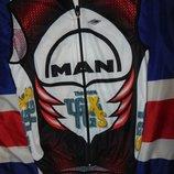 Спортивная фирменная футболка вело майка италия Wind Винд .xs-s.унисекс .