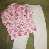 Флисовая пижама Primark 5-6 лет