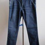 Мужские синие джинсы, S-M