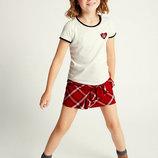 Стильный набор из футболки и юбочки от Marks & Spencer из Англии